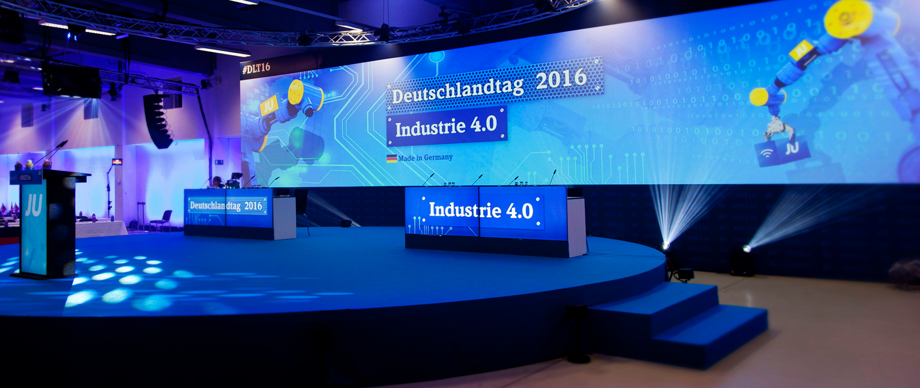 Deutschlandtag 2016 – Panoramadisplay